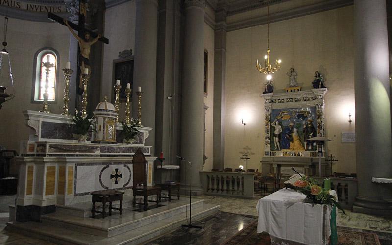 Chiesa di Santo Stefano altare
