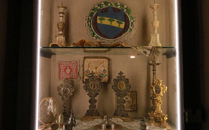 Museo di Arte Sacra cripta cimeli