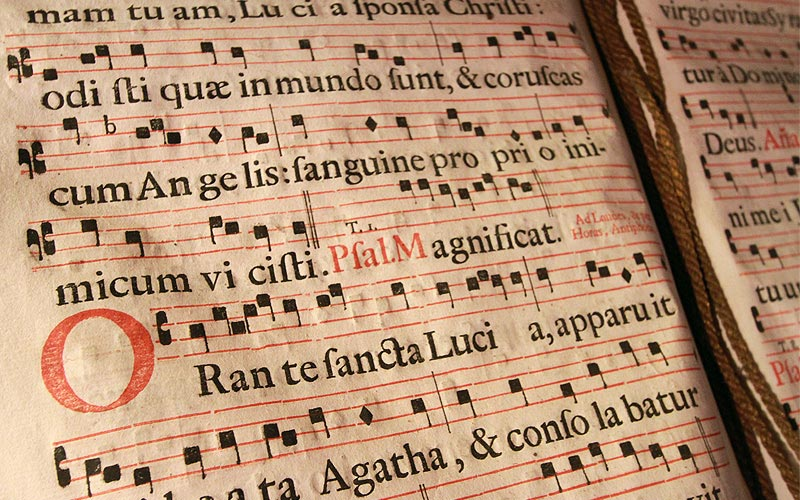 Museo di Arte Sacra testi sacri
