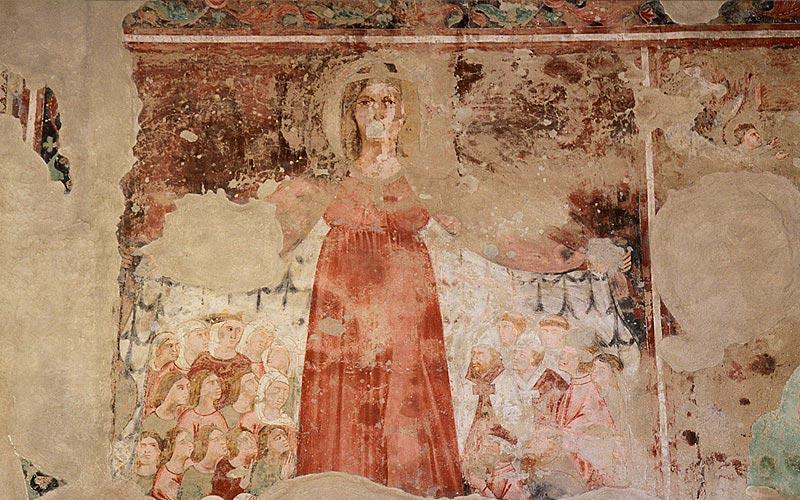 Orbignano chiesa XIII-secolo Affreschi
