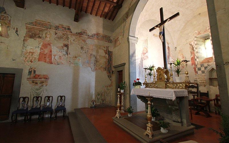 Orbignano chiesa borgo