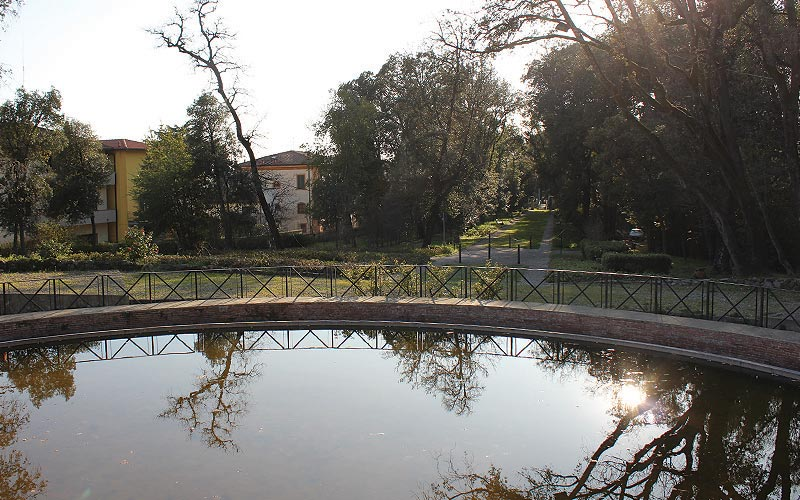 Parco Storico I Giardinetti Lamporecchio laghetto