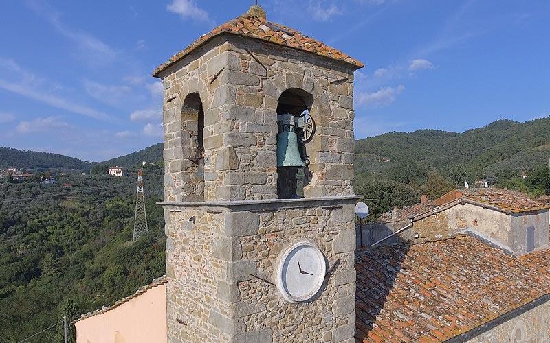 Porciano chiesa di San Giorgio