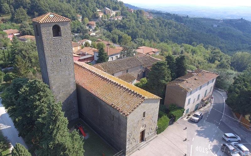 San Baronto monaco franco