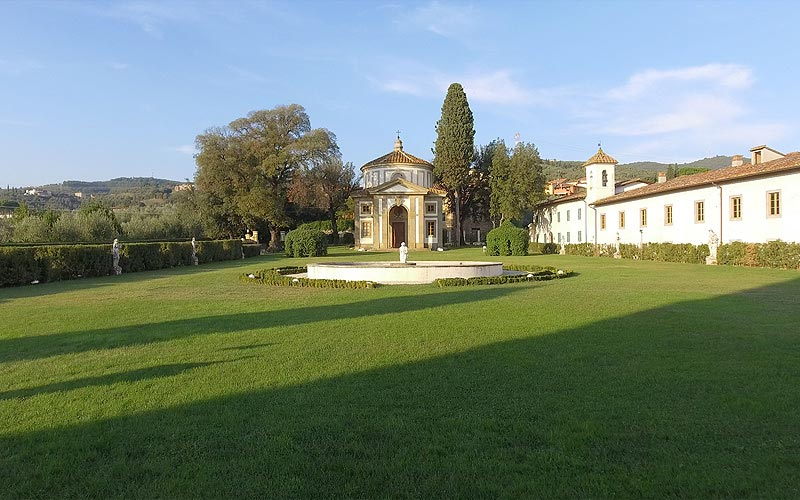 Villa Rospigliosi Lamporecchio chiesa