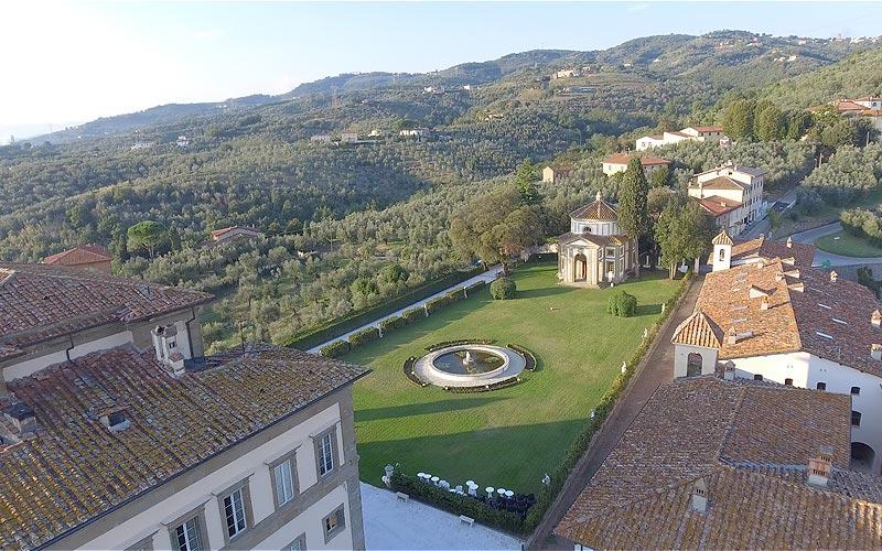 Villa Rospigliosi Lamporecchio parco