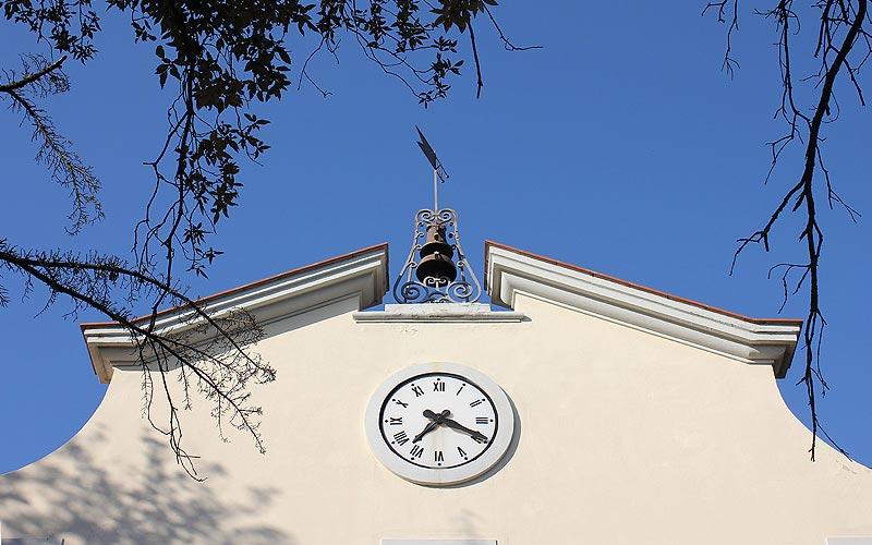 Villa del Parco orologio