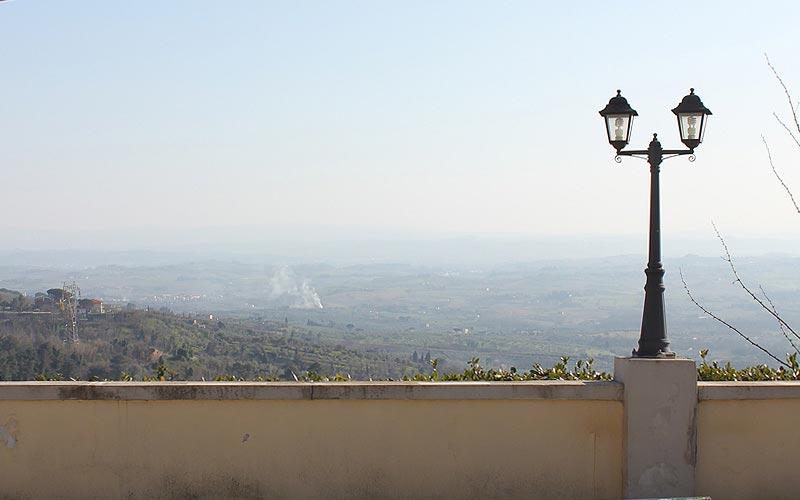 Villa del Parco panorama