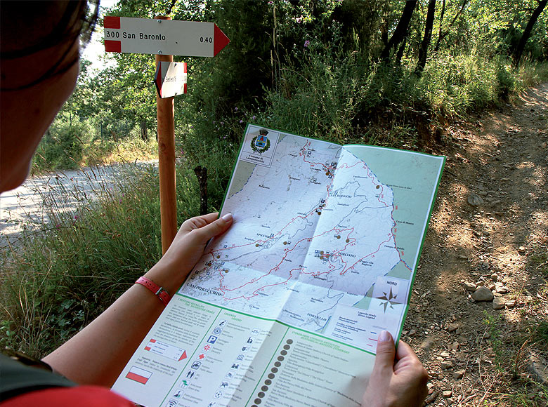 Trekking Percorsi e sentieri attraverso le colline del Montalbano