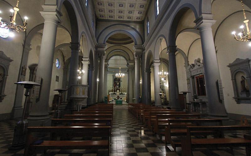 Chiesa di Santo Stefano Madonna con il Bambino e Santi