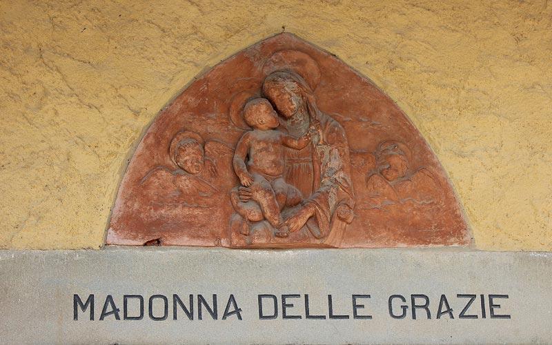 Oratorio della Madonna delle Grazie antico sentiero