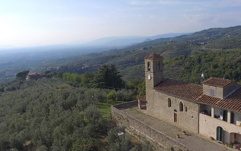 Porciano borgo medievale Montalbano