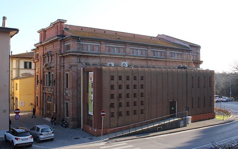 Teatro Comunale Lamporecchio Esterno