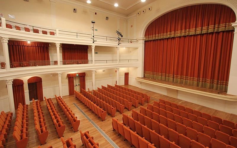 Teatro Comunale Lamporecchio Galleria e Palco