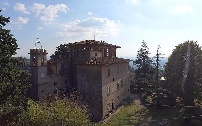 Villa di Papiano Varazzano Montalbano