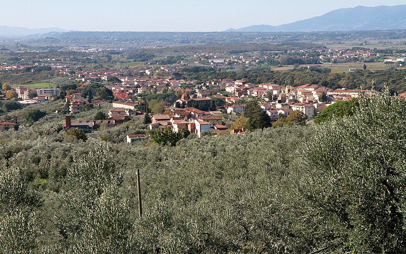 cuore della Toscana settentrionale