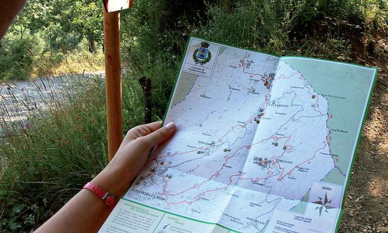 Paths and naturalistic trails-Montalbano